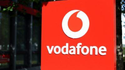 Bundesweite Störungen im Mobilfunknetz von Vodafone