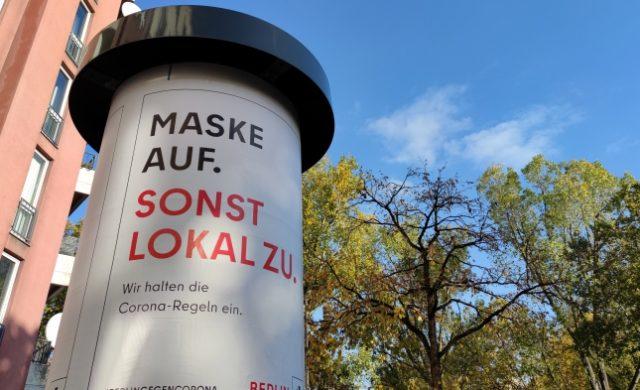 Berlins Regierender verteidigt Lockdown-Entscheidung – es gebe zu viele Kontakte zwischen den Menschen