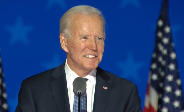 """Biden: """"Es ist nicht vorbei, bis jede Stimme gezählt ist"""""""