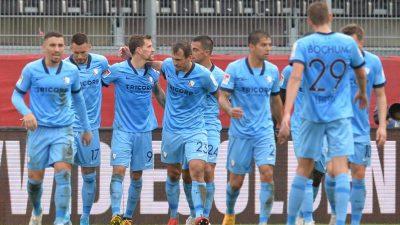 Bochum rückt auf Rang zwei vor – Rückschlag für Hannover