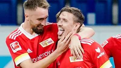 Matchwinner Kruse lässt Union Berlin jubeln