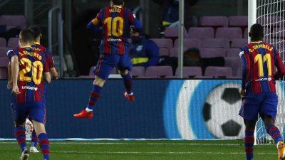 Zwei Messi-Tore beim Sieg von Barcelona gegen Betis Sevilla