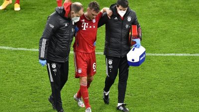 FC Bayern bangt um Kimmich – Verletzung am Knie