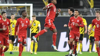 FC Bayern zementiert Machtverhältnisse in Dortmund