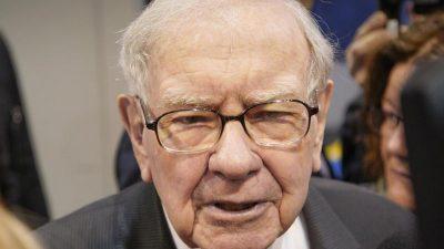 Buffett steckt neun Milliarden Dollar in eigene Aktien