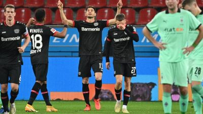 Spektakel in der BayArena: Leverkusen bezwingt Gladbach