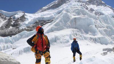 Zwei ausländische Bergsteiger am Mount Everest gestorben