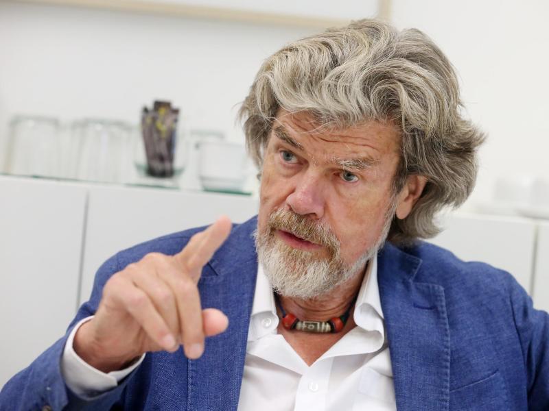 """Reinhold Messner: """"Ich hatte ganz großes Glück"""""""
