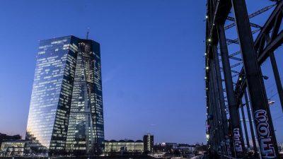 EZB: Banken erst 2022 auf Vor-Krisen-Niveau