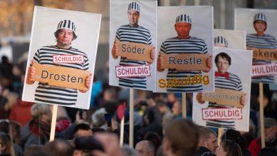 """""""Querdenken"""" wird nicht vom Verfassungsschutz beobachtet"""