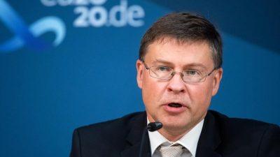 Brüssel droht EU-Staaten mit Kürzung von Corona-Geldern bei fehlenden Reformen