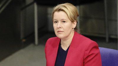 CDU fordert weiterhin die Prüfung von Giffey Dissertation