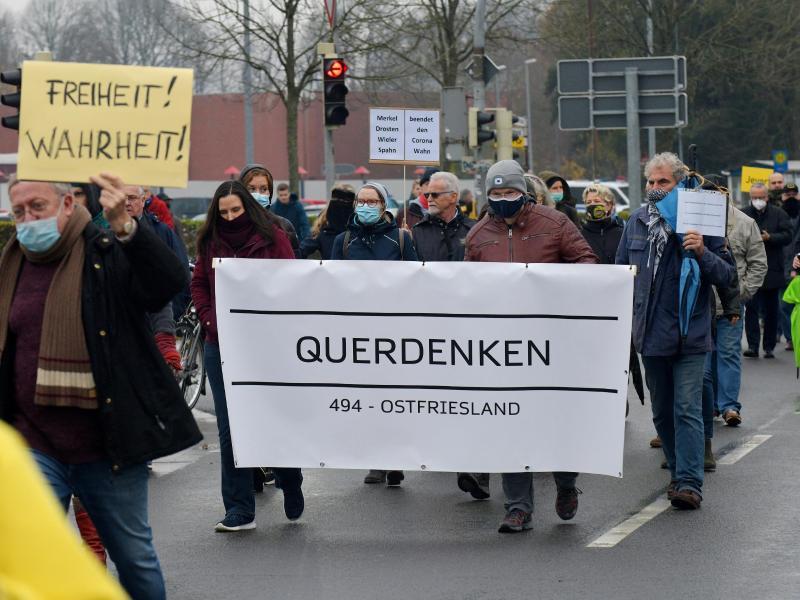 Demos in Leipzig und anderen Städten gegen massive Corona-Auflagen