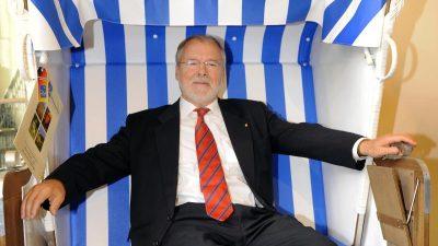 Mecklenburg-Vorpommerns Alt-Ministerpräsident Harald Ringstorff gestorben