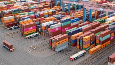 Container im Corona-Lockdown: Hohe Nachfrage vervierfacht Frachtraten