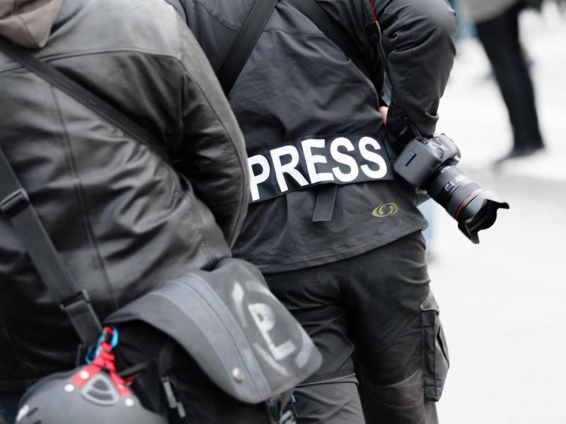 Presserat fordert besseren Schutz von Journalisten bei Demonstrationen