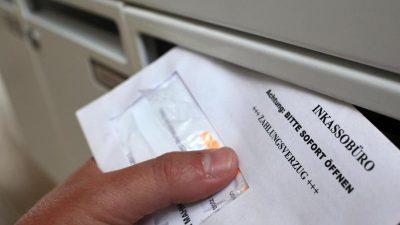 Regierungskoalition beschließt Reform für Schuldner von Inkassounternehmen