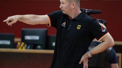 Deutsche Basketballer verlieren auch gegen Frankreich