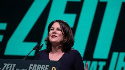 """""""Wirtschaftswoche""""-Umfrage: Führungskräfte favorisieren Baerbock als Kanzlerin"""