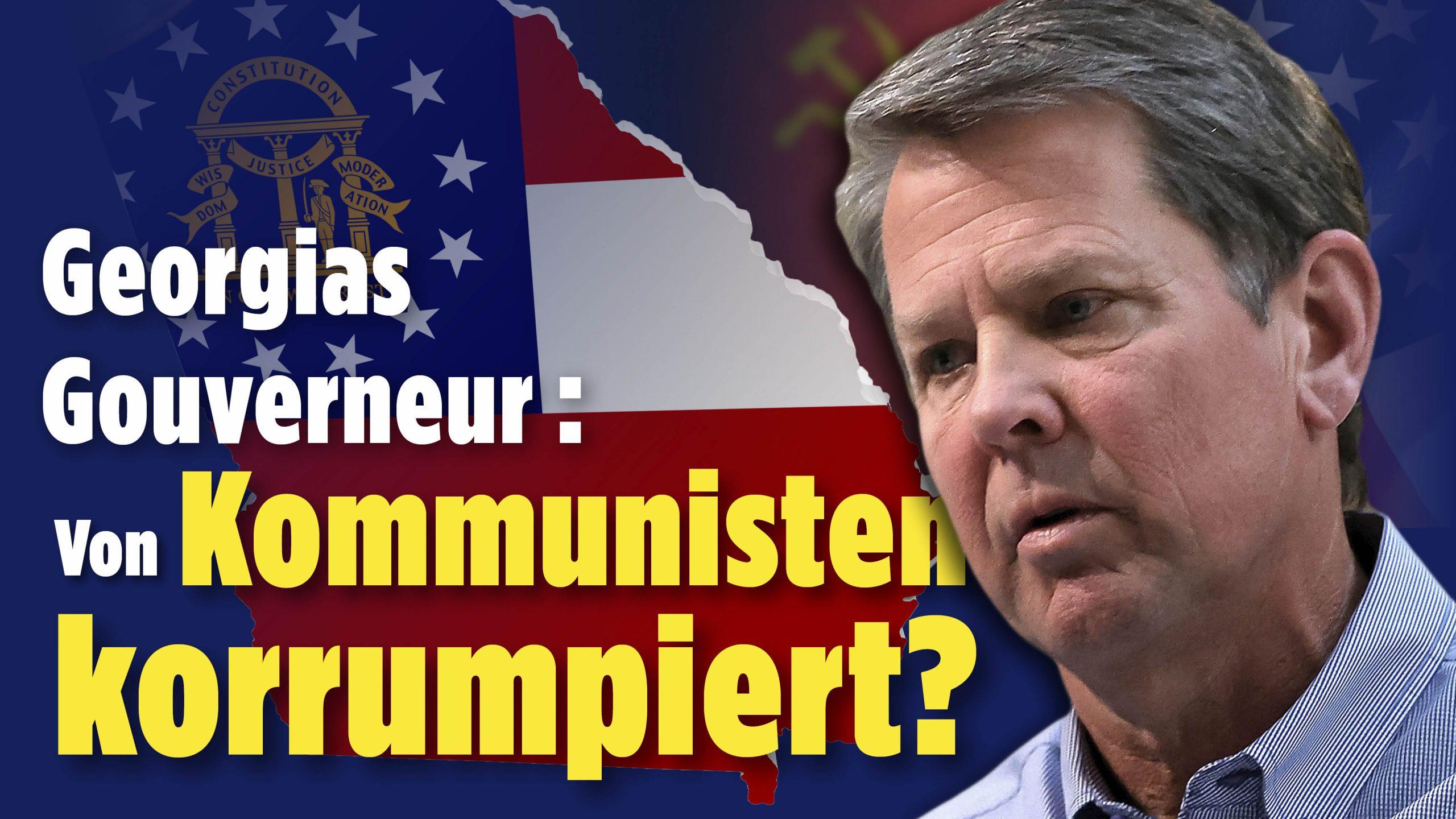 """NTD – Anwalt übt scharfe Kritik an Georgias Gouverneur: Kemp """"liebt das kommunistische China"""""""