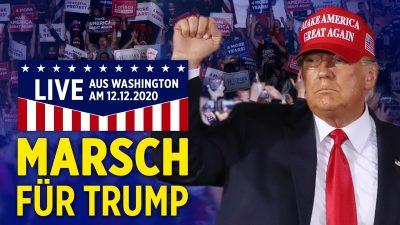 """Live: """"Millionen-MAGA-Marsch"""" für Trump in Washington"""