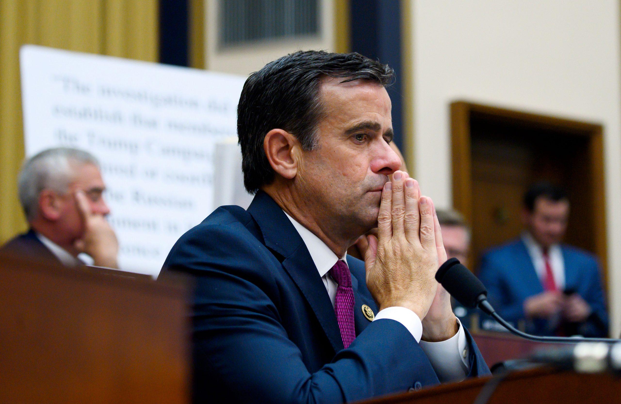 US-Geheimdienstchef Ratcliffe: China versuchte, die US-Wahlen 2020 zu beeinflussen