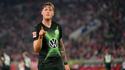 "Internet-Shitstorm gegen Wolfsburg-Stürmer Weghorst – Corona-Impfung: ""Informiert euch selbst"""
