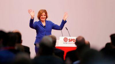 SPD Rheinland-Pfalz kürt Dreyer mit 99,7 Prozent zur Spitzenkandidatin für Landtagswahl