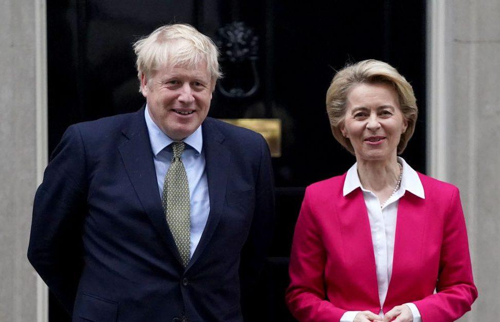 Von der Leyen und Johnson beraten über Brexit-Handelsdeal