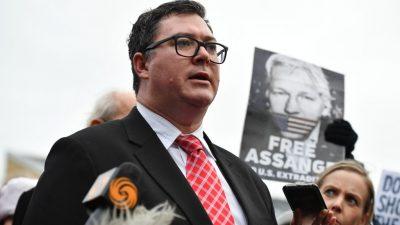 """Australischer Abgeordneter: """"Präsident Trump, bitte begnadigen Sie Assange"""""""