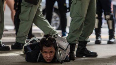Prozess gegen Demokratieaktivisten aus Hongkong in China eröffnet