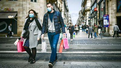Frankreich verzeichnet 2020 neun Prozent mehr Sterbefälle