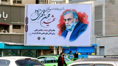 Iranischer Kernphysiker soll mit satellitengesteuerter Waffe getötet worden sein