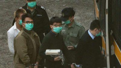 Deutsche Politiker fordern schärfere Konsequenzen für Inhaftierung von Hongkonger Aktivisten