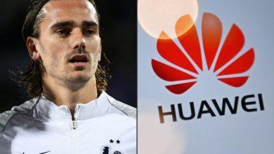 Fußballstar kündigt Vertrag mit Huawei wegen Gesichtserkennungs-Software