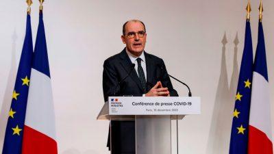 Frankreich verhängt ab sofort Ausgangssperren ab 20 Uhr – auch für Silvester