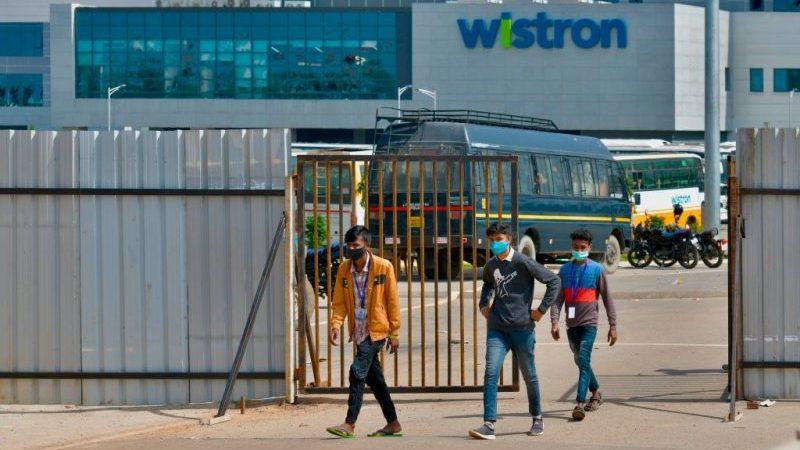 Hundert Festnahmen nach gewaltsamen Protesten in indischer iPhone-Fabrik