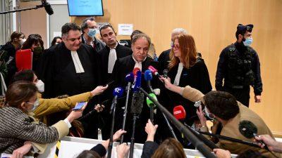 """30 Jahre Haft für Hauptangeklagten im """"Charlie-Hebdo""""-Prozess"""