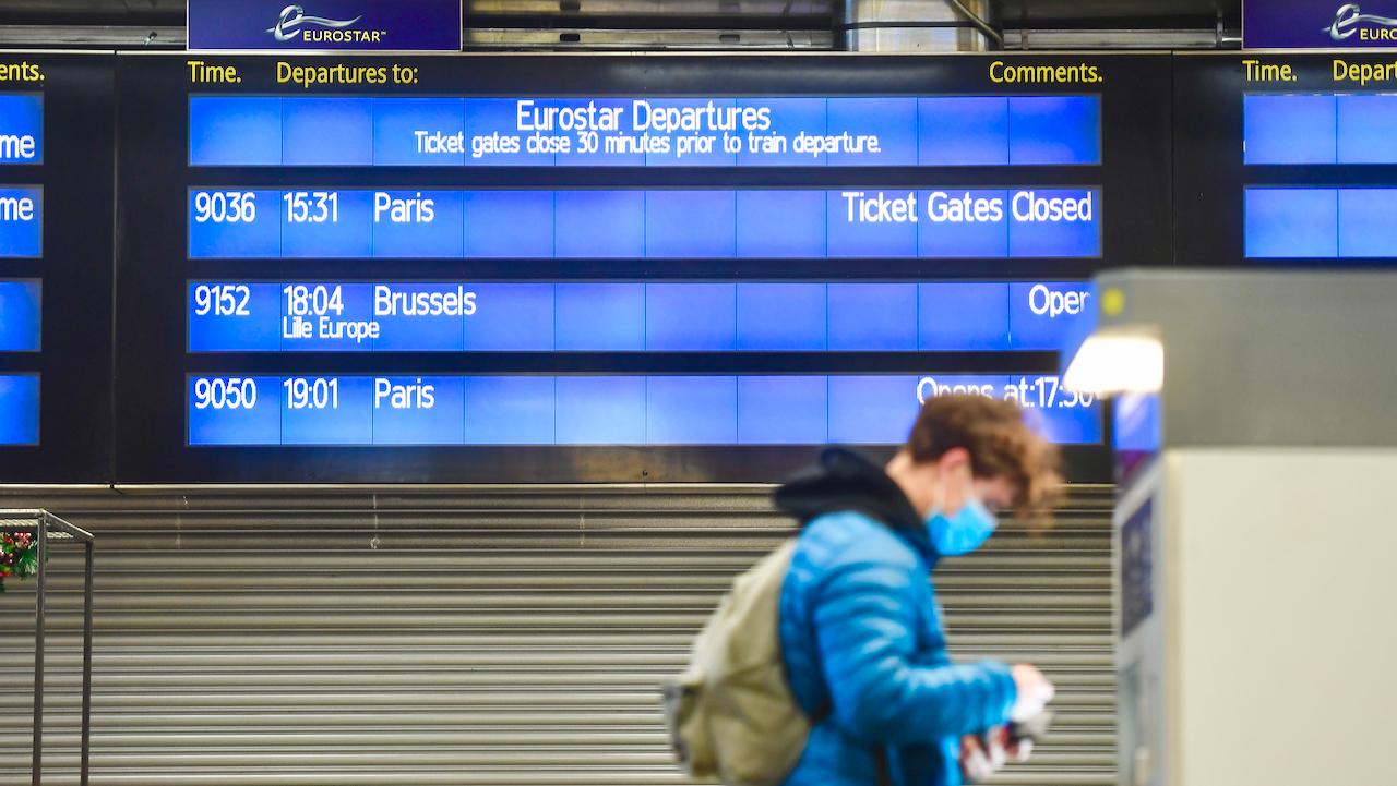 Corona-Mutation: Eurotunnel geschlossen – Grenzen zu Großbritannien zu