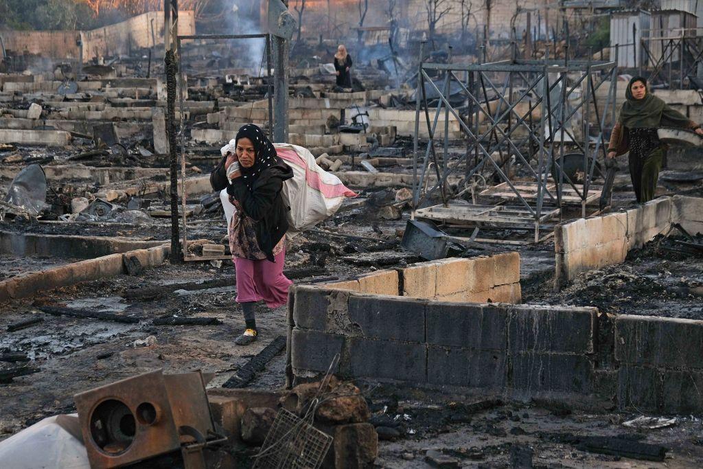 Libanon: Migrantencamp nach Streit mit Einheimischen abgebrannt