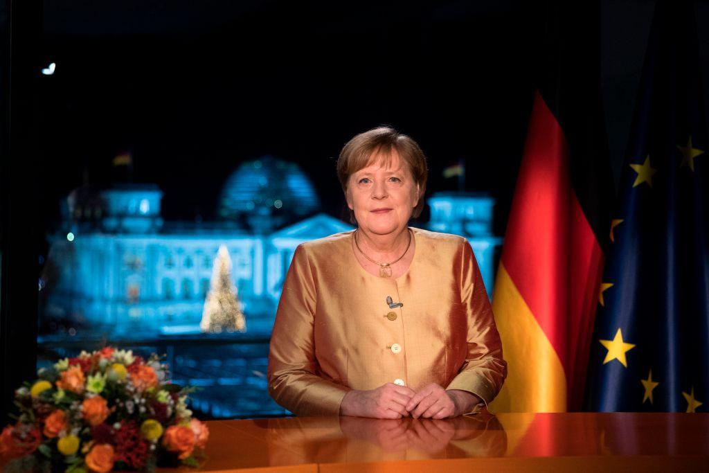 Neujahrsansprache von Bundeskanzlerin Angela Merkel