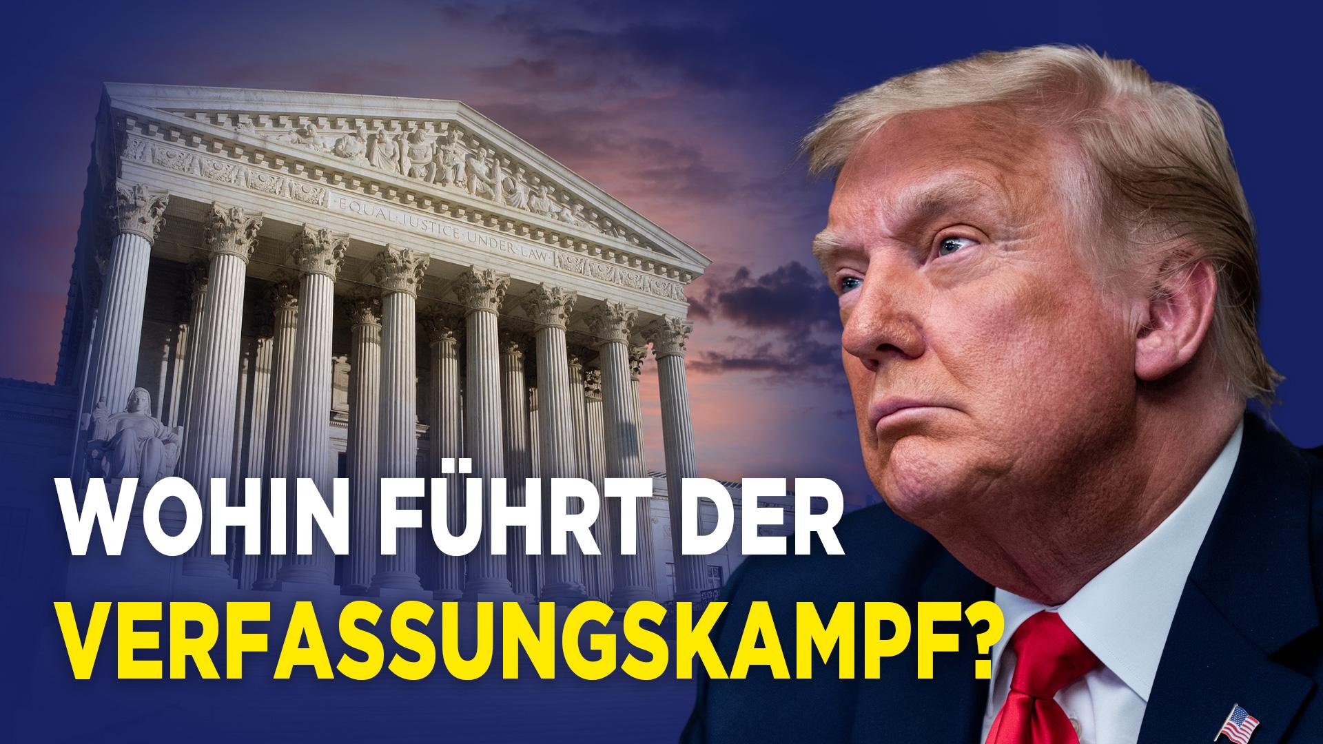 Trump zieht vor Supreme Court – Was ist sein Ziel? | Pentagon setzt Gespräche mit Biden-Team aus
