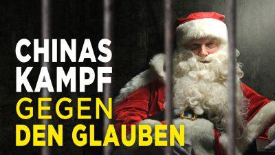 """""""Ein schändliches Fest"""": Chinas Hetze und Propaganda gegen Weihnachten"""