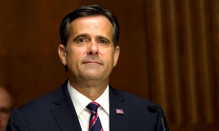US-Geheimdienstchef: Bericht über ausländische Wahlbeeinflussung 2020 wird auf Januar vertagt