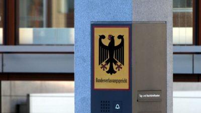 Karlsruhe lehnt Eilanträge der Öffentlich-Rechtlichen ab