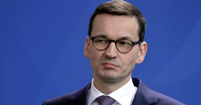 """Morawiecki: Rechtsstaatsmechanismus der EU potentiell """"zerstörerisch"""""""
