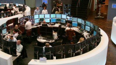 DAX am Mittag im Minus – Anleger fürchten harten Lockdown