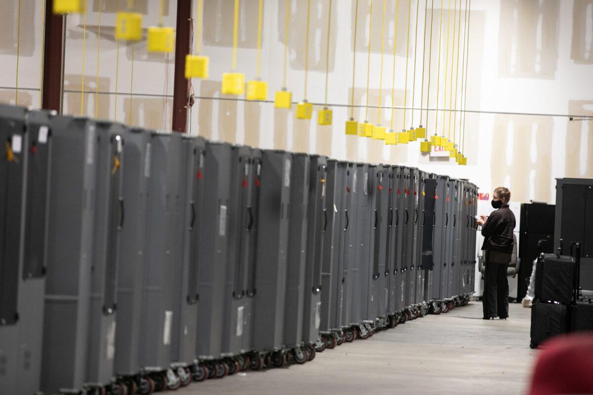 Dominion-Server verschwindet in Georgia nach Antrag auf einstweilige Verfügung