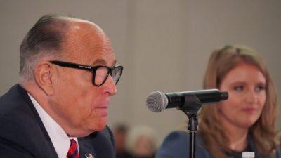 Nach Giulianis Positiv-Test: Parlament von Arizona schließt für eine Woche