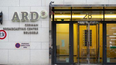 ARD: Landtagsabgeordnete sollen Rundfunkerhöhung durchwinken